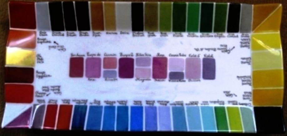 Palette pigments