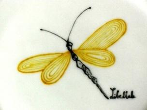 Libellule jaune