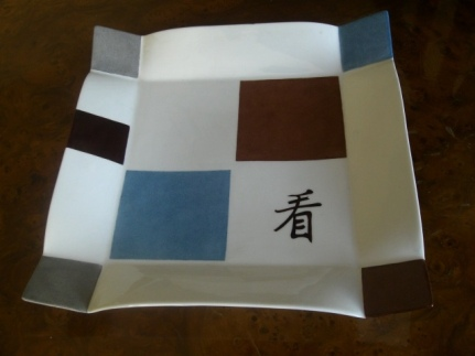 assiette présentation japon
