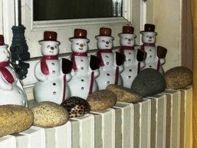Bonhommes de neige platine