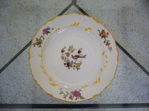 Résultat sur porcelaine datant du tout début du siècle dernier