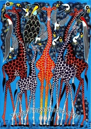 Inspiration art Tanzanien