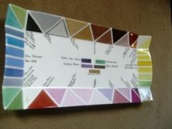 Palette triangles