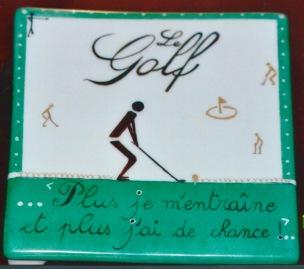 Coup d' Essai golfeur