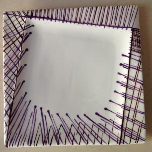 Façon Aiguilles Chocolat Violet, adorables formes aiguës et incurvées