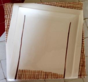 Façon Tweed Chocolat Sépia, adorables formes aiguës et incurvées